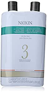 Nioxin System 3 Cleanser and Scalp Therapy Conditioner, 33.79 Ounce