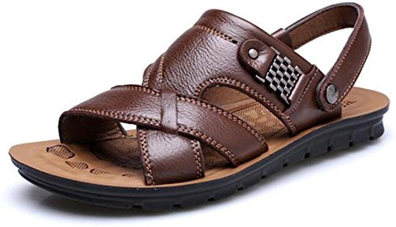 Sandalias para Hombres Sandalias Antideslizantes Transpirables Sandalias y Zapatillas de Playa Ocasionales Zapatos