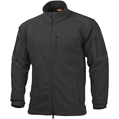 41wTw4Km98L. SS500  - Pentagon Men's Perseus Fleece Jacket 2.0 Black