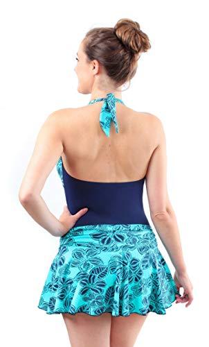 Designer della Ragazza con Allacciatura al Collo Incontinenza Costume da Bagno