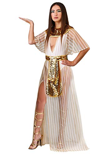 Women's Sheer Cleopatra Fancy Dress Costume - Sheer Womens Kostüm