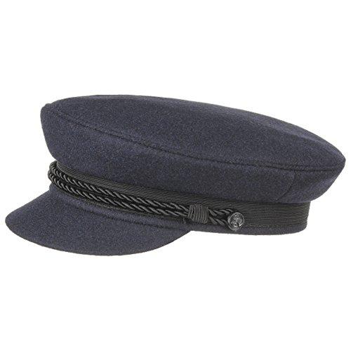 Kostüm Seemann Blau Marine Herren (Elbsegler Schiffsmütze Schildmütze Mütze (58 cm -)