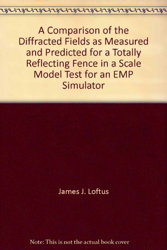 A Comparison of the Diffracted Fields as Measured and Predicted for a Totally Reflecting Fence in a Scale Model Test for an EMP Simulator par James J. Loftus