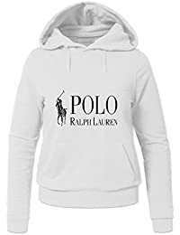 Polo Ralph Lauren Classic Logo For Womens Printed Pullover Hoodies