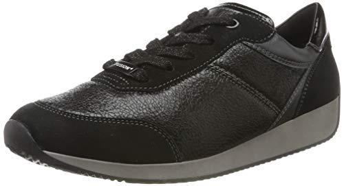 ARA Damen LISSABON 1244050 Sneaker, Schwarz (Schwarz, Iron 75), 39 EU
