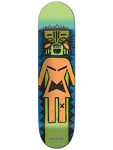 Girl Skateboard-Deck Rick Mccrank Tiki Og Pro - 8.5 Inch Grun - Multi (One Size , Grun)