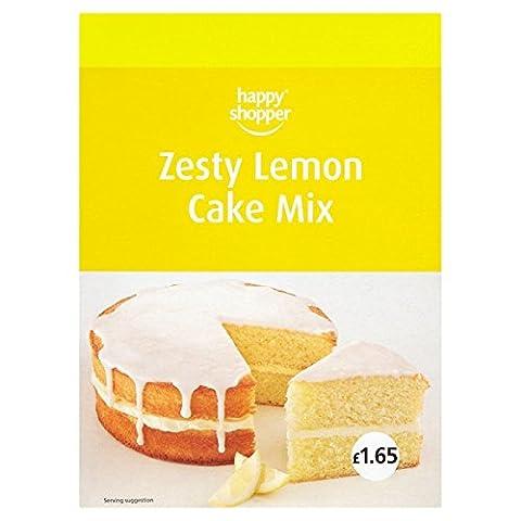 Glücklicher Käufer Zesty Lemon Cake Mix 460g (Packung mit 5