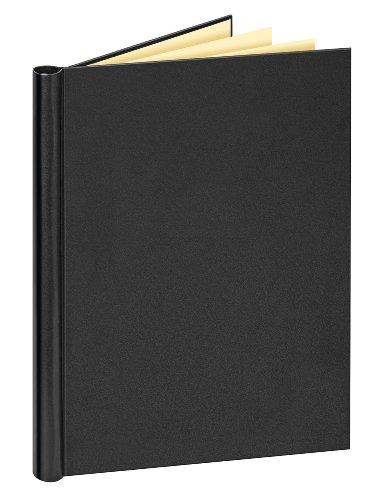 Veloflex 4944 080 - Klemmbinder A4 mit Ledernarbung, schwarz