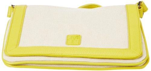 Marc OPolo Accessories Maryan 50193 35110 302, Borsa a tracolla donna, 3x17x23 cm (L x A x P) Giallo (Gelb (gelb 35110))