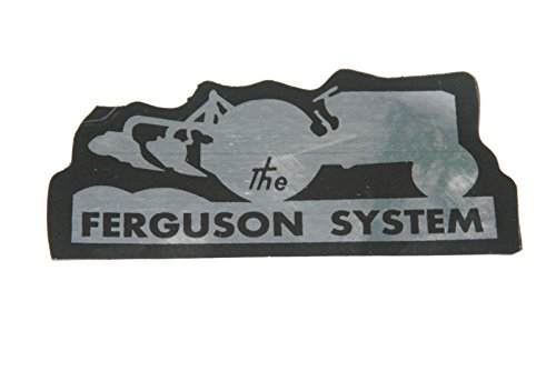 EnfieldCity in Connecticut USA County Paar, 2 Stück, Ferguson System-Aufkleber Massey Ferguson