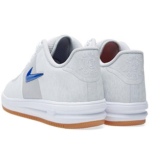 Lunar ForceFuse Sp Clot Sport Entraîneur Chaussures ntrl gry, unvrsty rd-gm ryl-white