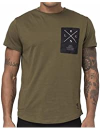 "RELIGION CLOTHING hommes Tee-shirt "" rlgn Persuit "" kaki"