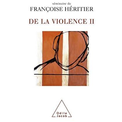 De la violence II (Sciences Humaines)