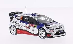 Ford Fiesta WRC, No.15, M-Sport World Rally Team, Rallye Monte-Carlo, 2015, voiture miniature, Miniature déjà montée, Spark 1:43