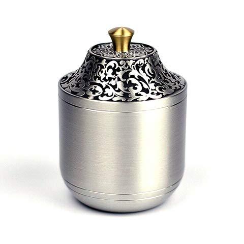 Urna Per Ceneri Memorial Cremazione Ceneri Per Adulti Display Burial Urn At Home Or Office,Silver