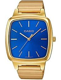 Casio Collection – Reloj Unisex Analógico con Correa de Acero Inoxidable – LTP-E117G-2AEF