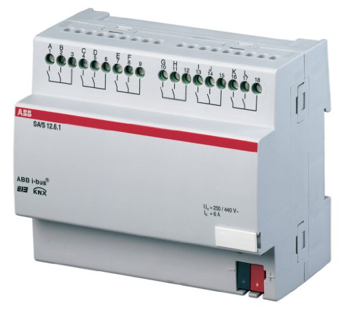 ABB SA/S12.6.1 EIB/KNX Schaltaktor, 6A, REG, 12-fach