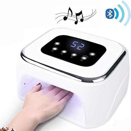 ZYC Bluetooth Nagel UV Lampe 42 LED Perlen Gel Nagellack Trockner Musik Player Nagel Aushärtung Licht Nagel LED Lampe - Aushärtung Trockner
