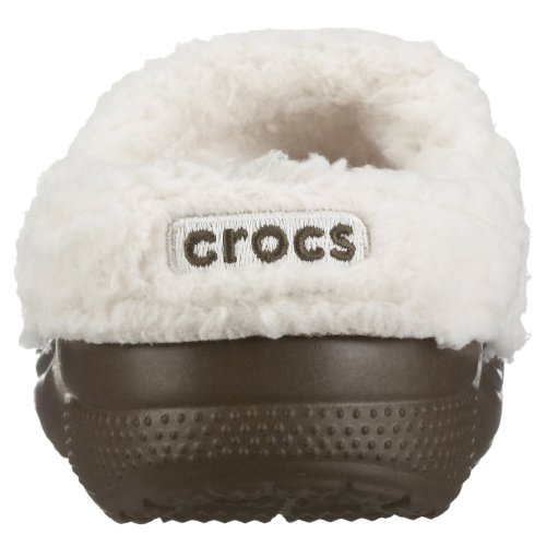 Crocs Mammoth Kids 10048, Unisex - Kinder Clogs & Pantoletten Chocolate/ Oatmeal