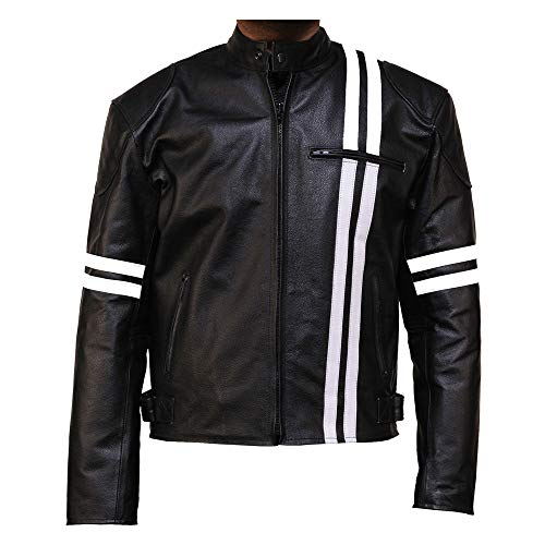 98f280dfc GREAT BIKERS GEAR X-Man Style Real Leather Jacket for Men - X-Men