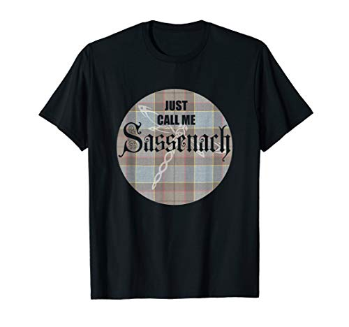 Men Outlander Sassenach scottish T-Shirt -