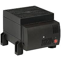 Stego 03060.0-00 Modelo CS 030 Resistencia Calefactora con Ventilación Semiconductora, con Termostato, 1.2 W, 0 a +60°C Temperatura de Regulación, 230 VAC, 50/60 Hz