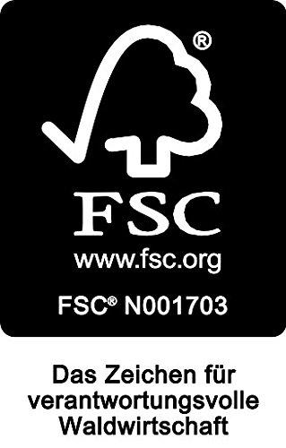 Hockerbank BRASILIA 150cm ohne Rückenlehne, Eukalyptus Hartholz, FSC®-zertifiziert - 4