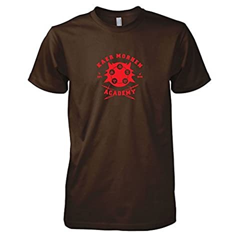 TEXLAB - Kaer Morhen Academy - Herren T-Shirt, Größe L, braun