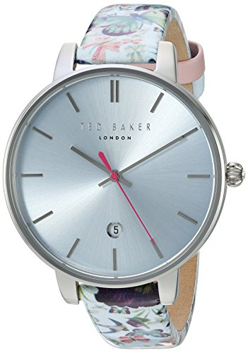 Ted Baker Women's 'KATE' Quartz Stainless Steel and Leather Dress WatchMulti Color (Model: 10031540)