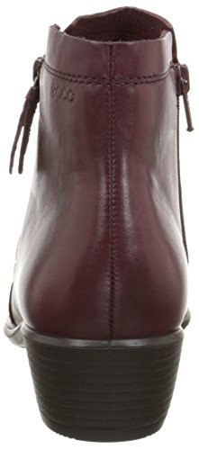 Ecco  ECCO TOUCH 35, Bottes courtes, doublure froide femmes Rouge - Rot (MORILLO)