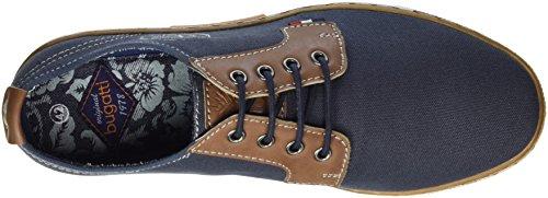 Bugatti K10166, Sneakers Basses Homme Bleu (Dunkelblau 425)