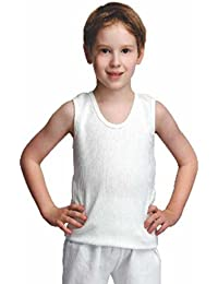 Bodycare Kids Thermal CutSleeve Top (Pack of 3 , Off White Colour)