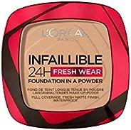 L'Oréal Paris L'Oreal Paris, Infaillible 24H Fresh Wear Foundation in a powder, 140 Gold