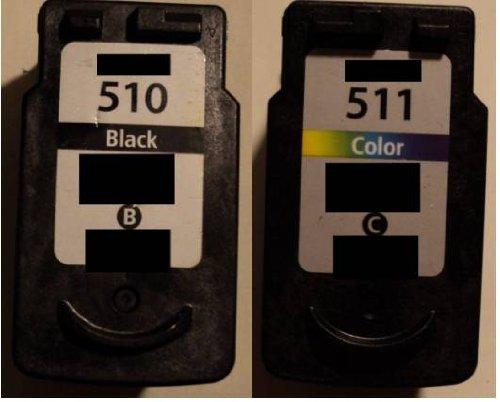 2x Druckerpatrone SPAR-SET PG 510 + CL 511 Refill für Canon Drucker black+color iP 2700 2702 MX 320 330 340 350 360 410 420 MP 230 240 250 252 260 270 272 280 282 480 490 492 495 499