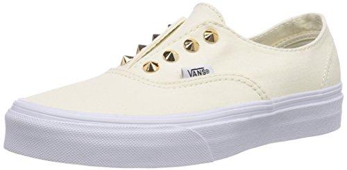 Vans U Authentic Gore , Baskets mode mixte adulte Blanc (White)