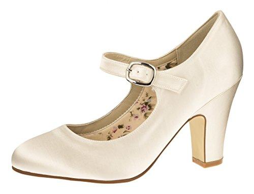 Rainbow Club Brautschuh Madeline, Größe:38.5 - Madeline Schuhe