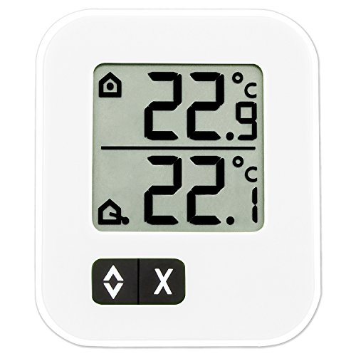 TFA Dostmann Digitales Max-Min-Thermometer, zwei Temperaturen messbar