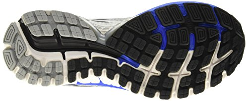 Brooks Adrenaline Gts 16, Chaussures de Running Compétition Homme Argent (Silver/Electricbrooksblue/Black)
