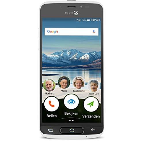 Doro 7307 Smartphone 8040 mit 8MP Kamera weiß