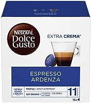 Nescafé Dolce Gusto Espresso Ardenza Caffè Espresso, 6 Confezioni da 16 Capsule (96 Capsule)