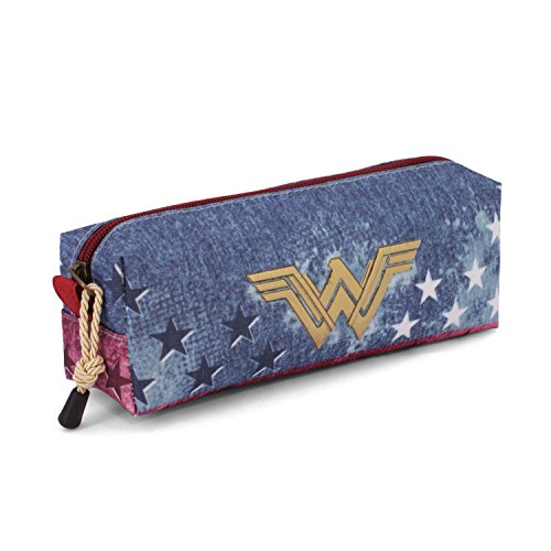 Karactermania Wonder Woman Radiant Estuches, 22 cm, Azul