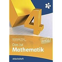 Reichel Das ist Mathematik 4, Arbeitsheft by Hans Humenberger (2013-01-09)