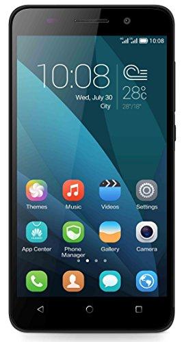 Honor 4X Smartphone 4G, Display 5.5 Pollici, Processore 64-bit Octa-Core Kirin 620, Fotocamera 13 MP, Memoria 8 GB, Android 4.4, Nero