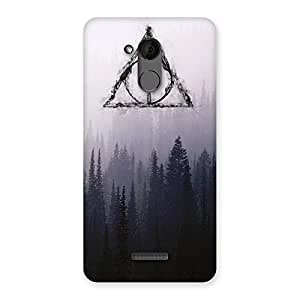 Neo World Dark Forest Back Case Cover for Coolpad Note 5
