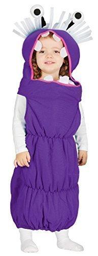 Fancy Me Baby Mädchen Junge Lila Monster Wurm TV Film Verkleidung Kostüm Kleidung 6-12-24 Monate - Lila, 12-24 Months