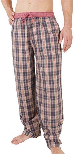 Pyjama-Hose von LUCA DAVID Olden Glory mit bequemem, weitem Schnitt und cooler Vintage-Optik aus 100% super weicher Baumwolle 1301-16206