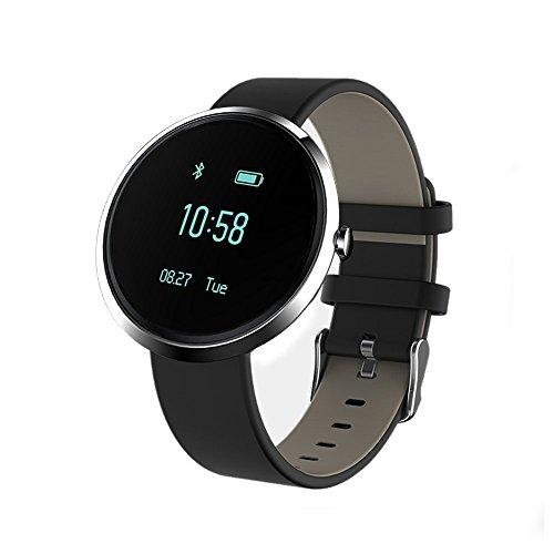 Smartwatch Reloj Inteligente Smart Watch, Stoga Reloj Bluetooth Monitor de Frecuencia Cardiaca Detección de Alergia al Alcohol Perseguidor de Deportes Sleeping Presión Arterial Alarma de Llamada