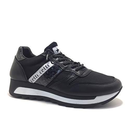 CETTI C847, Sneakers, Mujer, Color Negro