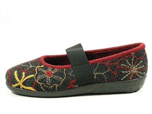 Rohde 2232 Ballerup Pantofole Donna Grau