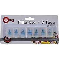 Pillendose Tablettendose 7 Tage Pillenbox Tablettenbox Spender Medikamenten-Box preisvergleich bei billige-tabletten.eu